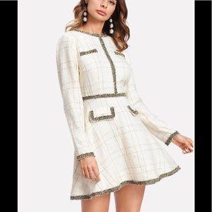 Shein tweed dress